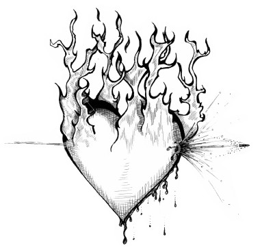 Awesome Easy Heart Drawings An Representation
