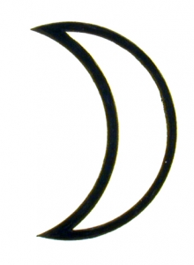 moon glyph